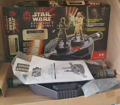 Rare 1999 Star Wars Episode 1 Lightsabre Duel Game New Box Wear and Tear