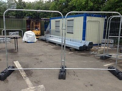 temporary site  fencing anti climb mesh site  panels bespoke sizes available