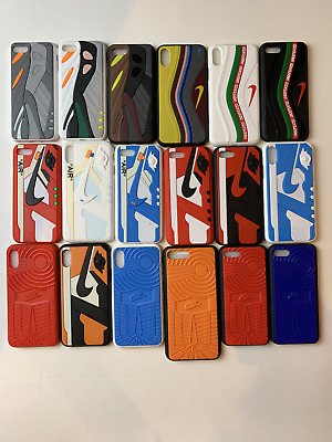 YEEZY NIKE JORDAN UNDEFEATED OFF WHITE AJ 3D Phone Case Cover iPhone 7 / 8 / X