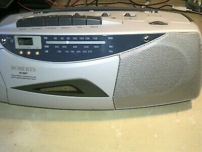 Roberts RC9907 FM/MW/LW Radio Cassette Recorder including mains lead