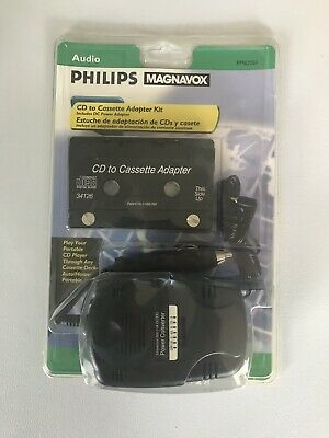 Phillips Magnavox CD To Cassette Adapter Kit PM62051