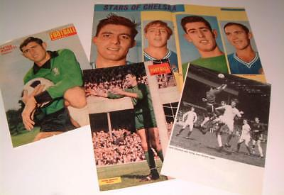 Chelsea Fc Legend Peter Bonetti Collection Of Four Magazine Posters Set Three