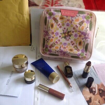 Estee Lauder Gift Set/BIRTHDAY/Party/Gift/Holidays/Travel/7-Items+Cosmetic bag