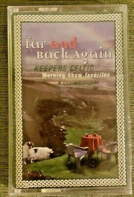 Brand New Unopened Cassette Tape - Far and Back Again **Keepers Celtic**  RARE