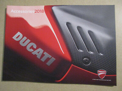 Catalogue Moto : Ducati : Accessories 2018 - En Francais -  11/2017.