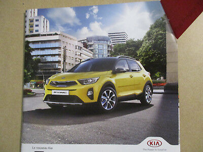 Catalogue Auto : Kia : Stonic + Specifications Techniques   10/2017