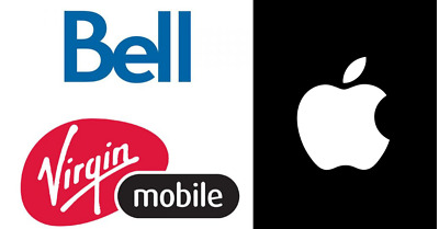 CANADA BELL/VIRGIN MOBILE UNLOCK iPhone all models supported (CLEAN IMEI)