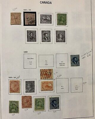 1851-1963 Canada Stamps Lot 512