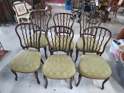 20th Century Traditional Theodore Alexander Solid Wood Chairs - Set of 6