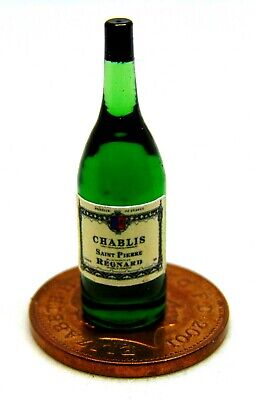 1:12 Scale Glass Bottle With A Jacobs Creek Red Wine Label Tumdee Dolls House
