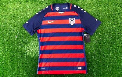 b65a5ffa8 Soccer USA National Team 2017 Gold Cup NIKE Player ISSUED Authentic Jersey  (XL)