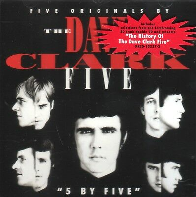 The Dave Clark Five – 5 By Five (1993) (Hollywood Records - PRCD-10337-2) Promo