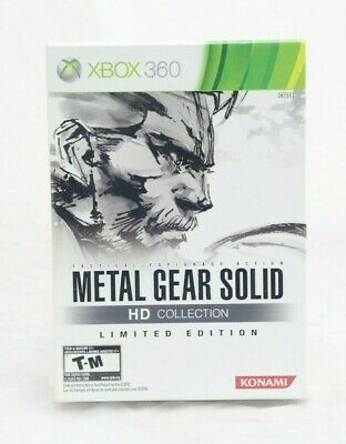 Metal Gear Solid HD Collection Limited Edition Xbox 360 Brand New Factory Sealed