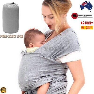 Infant Carrier Baby Slings Wrap Cotton Adjustable Newborn Breastfeeding Pouch