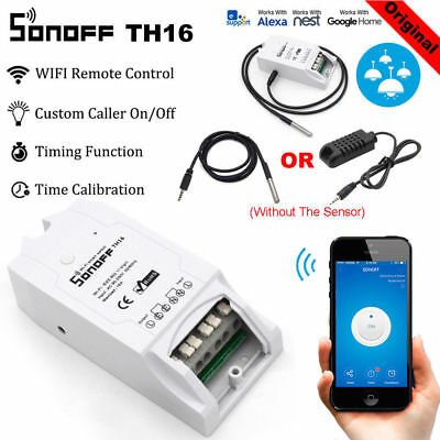 Sonoff ITEAD TH10A/16A Pow/Dual/Basic/RF WiFi Wireless Smart Home Switch Module