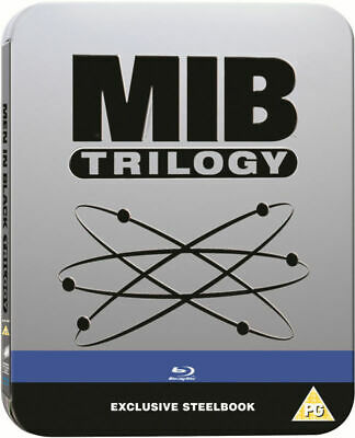 Men In Black Trilogy 1-3 Limited Edition Steelbook Bluray UK Exclusive Region B