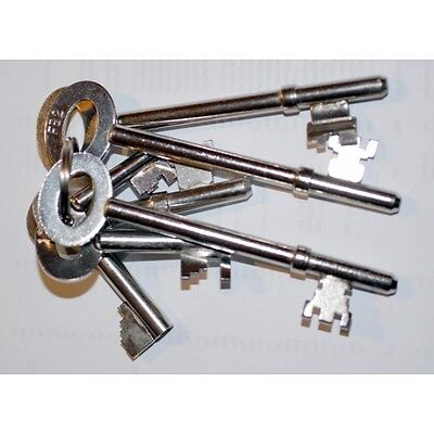 Fire brigade keys set of 6,