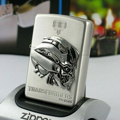 Zippo Lighter Silver Transformers Bumblebee Limited Edition - US Shipping