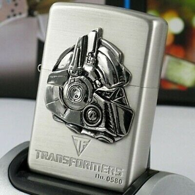 Zippo Lighter Silver Transformers Optimus Prime 1 Limited Edition - US Shipping