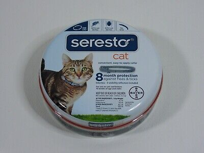 Bayer Seresto Flea & Tick Collar For Cats - 8 Month