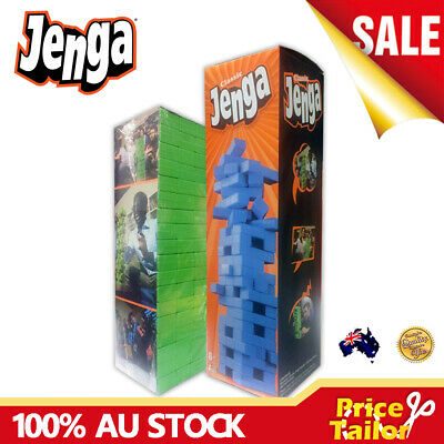 OZ Classic Jenga Family Board Party Game Kids Blocks Tumbling Tower Building Toy