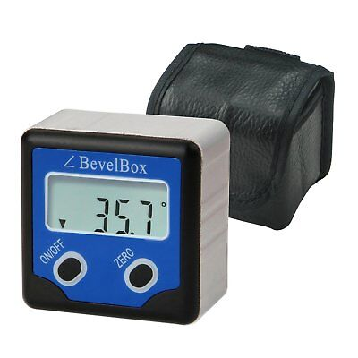 Digital Inclinometer Bevel Box Angle Finder Magnetic Base Protractor IP54 Rate