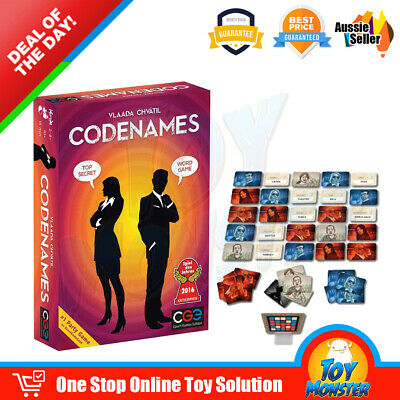 OZ Codenames Card Deduction Pictures Party Board Word Card Game Geek Game Winner