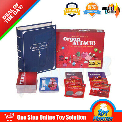 OZ Organ ATTACK! The Family-Friendly Game of Organ Harvesting Board Cards Game