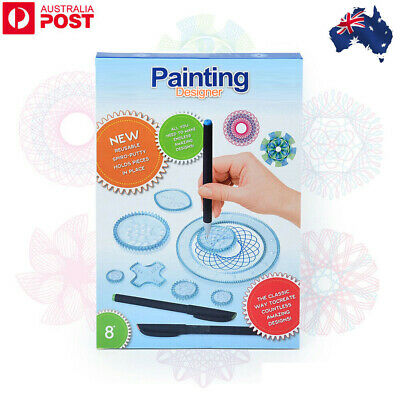 Original Spirograph Design Set Kids Creative Drawing Activity For Young Aspiring