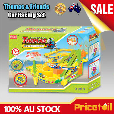 Thomas & Friends Car Race Chase Track Set Racing Car Game Kids Toy Set Xmas Gift