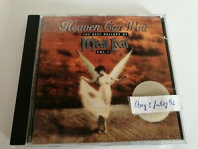 MEAT LOAF Heaven Can Wait The Best Ballads Of 12 Track Album CD Vol 1