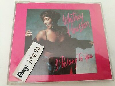 WHITNEY HOUSTON I Belong To You 4 Track Maxi CD Germany inkl. Remixes