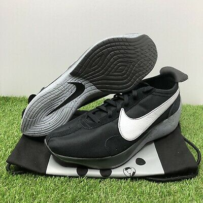 superior quality 42957 2cdfa NEW Mens Nike Moon Racer Black White Wolf Grey Dark Grey AQ4121-001 New size