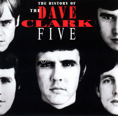 DAVE CLARK FIVE HISTORY OF DAVE CLARK FIVE 2 CD in Jewel Case DC5 32 pg booklet