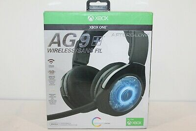 PDP Afterglow AG 9 Premium Black Headband Headsets for PC *Ships from USA*