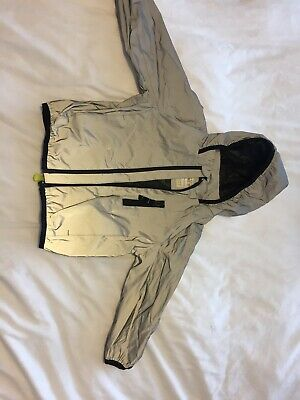 M&S Boys Jacket High Visability Reflective Material 12-18months