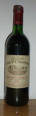Chateau Tour St.christophe 1981 Grand Cru