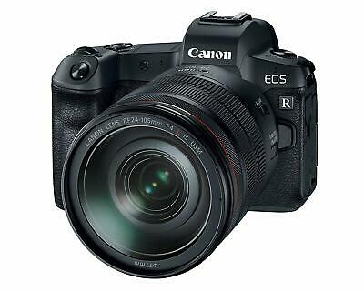 Canon EOS R 30.3MP Mirrorless Digital Camera with RF 24-105mm F/4L is USM Lens