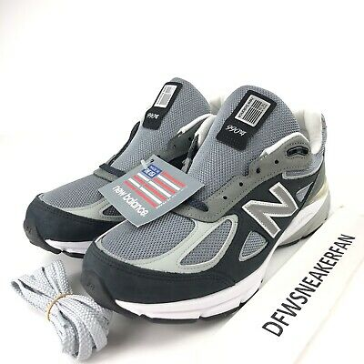 purchase cheap a6e5b f74c6 New Balance 990 Men s Size 9.5 Gray M990XG4 Running Shoes Made In USA New
