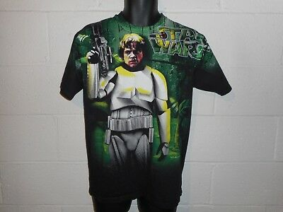 Vintage 90s 1996 Star Wars Luke Skywalker Youth XL