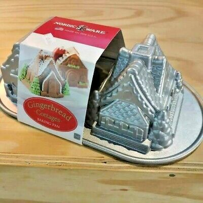 "Nordicware : Moule A Gateau ""Gingerbread Cottage """