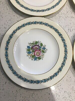 """Lot Of 2 Wedgwood Westland 8"""" Salad Plates W3939 Used  Very Good Condition"""