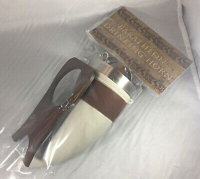 Game of Thrones House Baratheon Drinking Horn w. Stand Official HBO