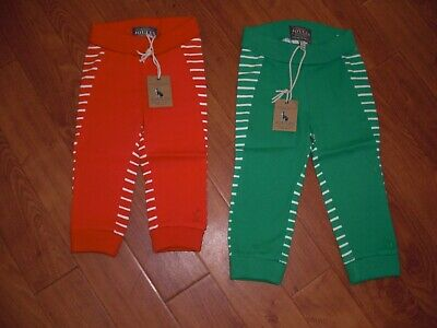 BNWT JOULES BABY BOYS ACE JERSEY JOGGERS GREEN OR RED 0-3 OR 3-6 MONTHS.rrp £15