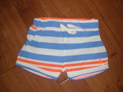 BNWT BABY BOYS JOULES DIGBY BLUE STRIPED SHORTS Age 3/6 Months.