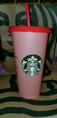 Starbucks COLOR CHANGING Reusable Cold Cups Different Colors Hard to Find 1 Cup