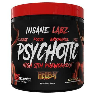 Psychotic Hellboy Pre Workout - 35 servings - Lemonade By Insane Labz