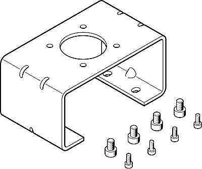 Festo 2197137 DARQ-K-P-A2-F05-30-R1 Mounting Adapter