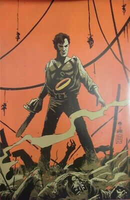 Army Darkness Ash Gets Hitched 4 Dynamite Virgin Art Variant Comic 2014 Nm New!