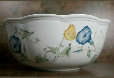 """""""Lenox"""" (BUTTERFLY MEADOW) Large Serving VEGETABLE BOWL 9"""""""